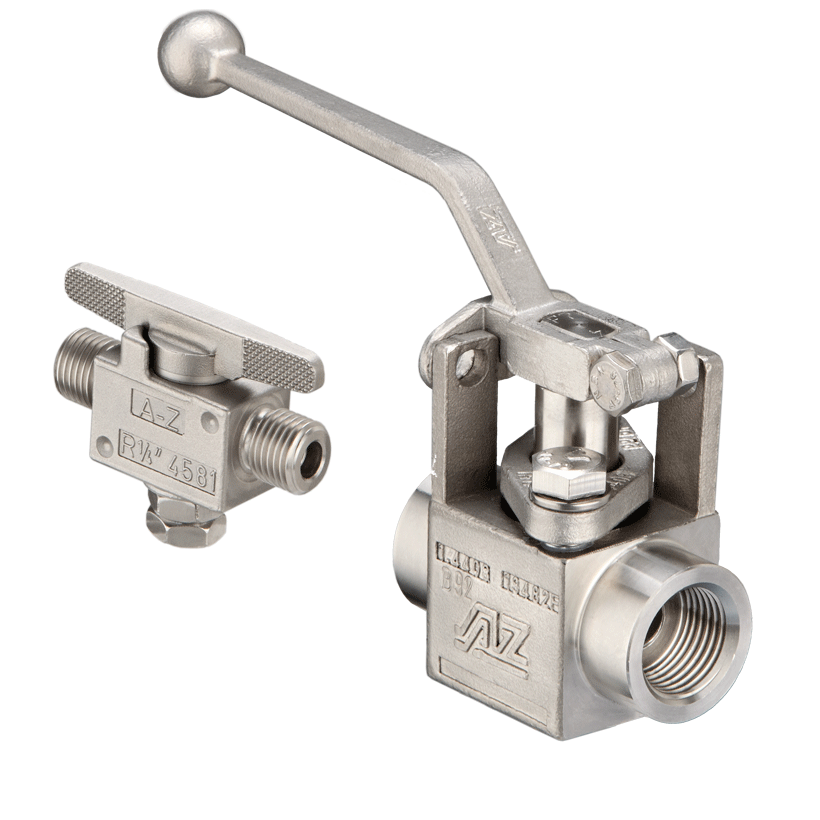 Screwed plug valves Instrumentation