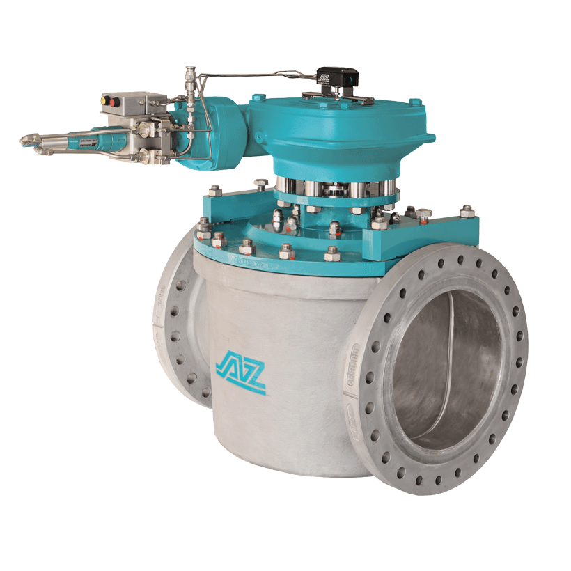 Plug valve with full bore design