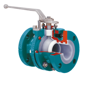 ball valve two piece body