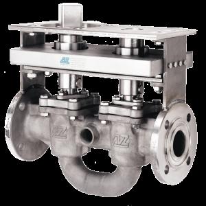 Tandem flush valve TYPE DBBC