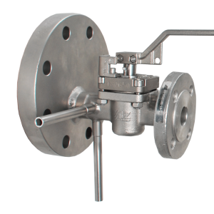 Oversize flange with test connections TYPE OVERSIZE