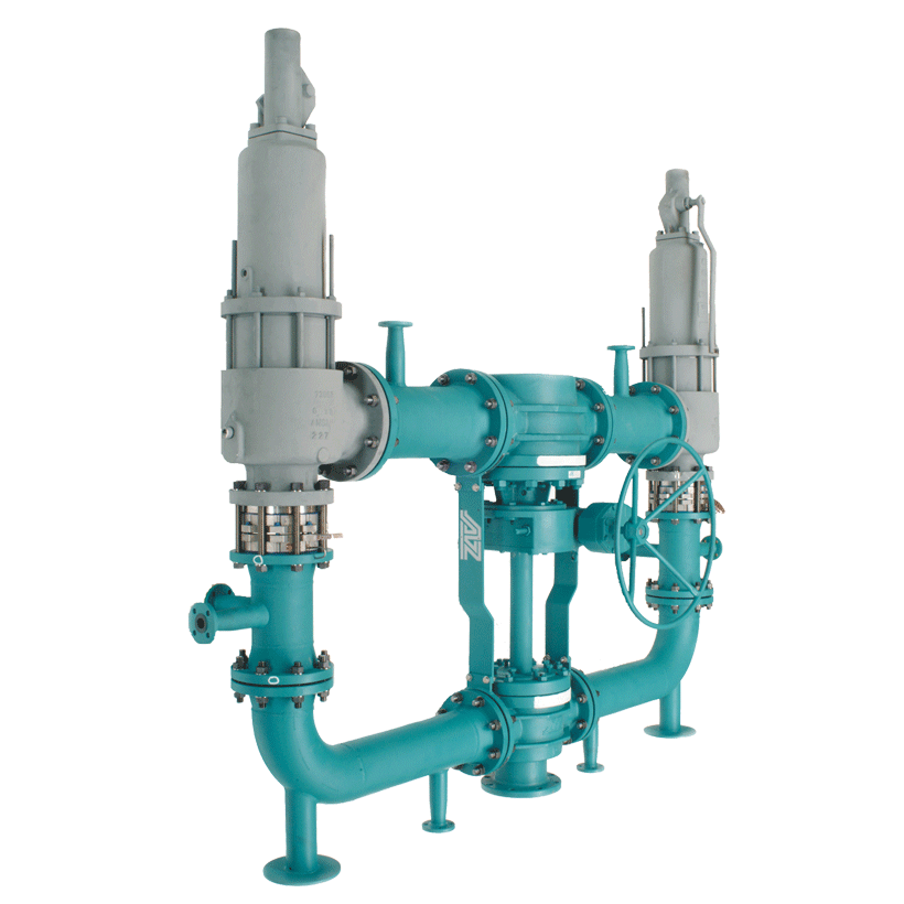 Special cross-over combinations for Safety (Relief) valves