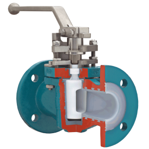 lined plug valve fluctuation temperatures chemical safety seal
