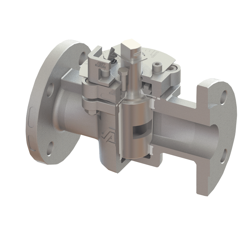Control plug valve