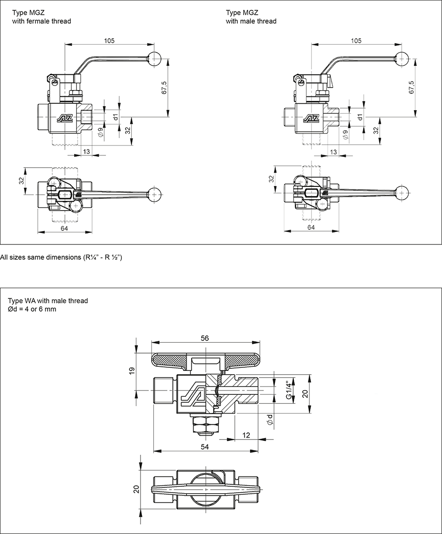 Techn-Daten-Muffenhahn-GB-MGZ-MBZ-MB-WA-1