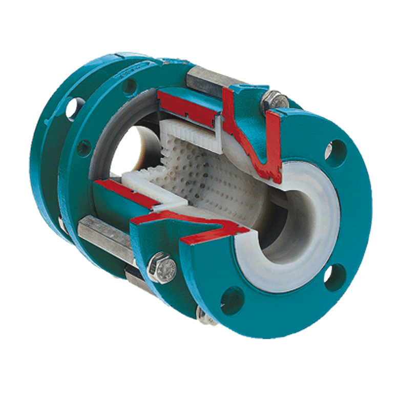 Strainers with PFA/FEP Lining